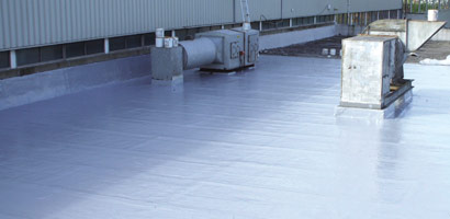 Hot and cold applied liquid roofing systems